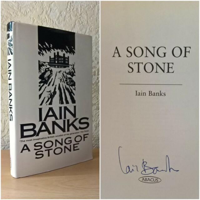 A Song of Stone, Iain Banks, (Hardback, 1997) [First Edition/ Signed]