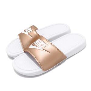 Nike Wmns Benassi JDI White Metallic