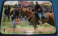 STRELETS Set 149 - US UNION INFANTRY ON THE MARCH - ACW - 1/72 SCALE