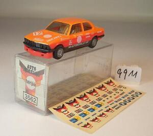 3562 BMW 323i Rallye Recaro mit Abziehbildern in O-Box #9911 Herpa 1//87 Nr