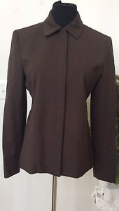 New Women's York Brown Laine Blazer Jones 199 Jacket Nwt 6 Ret Blend Size wRqC51B