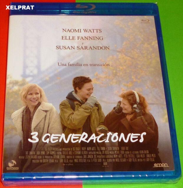 3 GENERACIONES / ABOUT RAY / 3 GENERATIONS - English Español -AREA B- Precintada