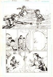 Jla 27 P.11 - Mikestone Hero Seite - Kunst Von Ed Benes & JP Mayer