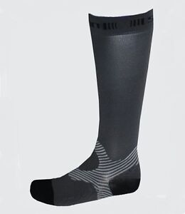 Spun-Performance-Apparel-Medical-Grade-Athletic-Compression-Socks-Grey