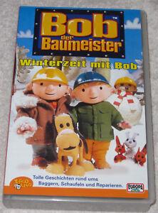 Bob der Baumeister - Winterzeit mit Bob - VHS Videokassette - 4 Geschichten - Bergheim, Deutschland - Bob der Baumeister - Winterzeit mit Bob - VHS Videokassette - 4 Geschichten - Bergheim, Deutschland