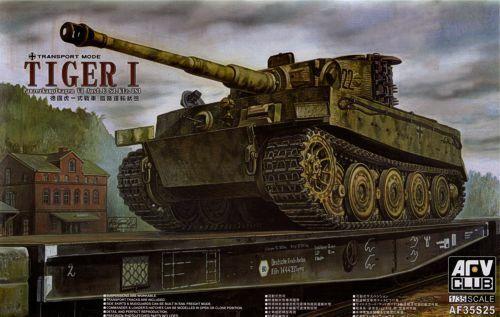 AFV Club 1  35 Pz.Kpfw.VI Tiger I Late (transportslag) AF35S25