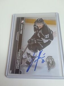2013-14-ITG-Heroes-amp-Prospects-Emile-Poirier-Autograph-Signed-Rc-Rookie