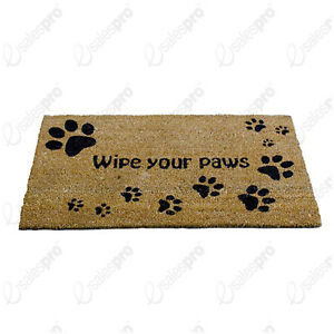 Image Is Loading Paw Prints Printed Door Mat From A La