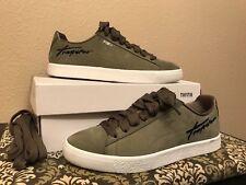 034da0643e9a 362752 Puma x Trapstar Clyde Bold White Black Olive Men s Shoes