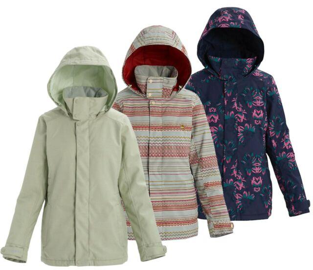 Burton Jet Set Snowboard Jacket Womens Size S Gray Faded Wool For Sale Online Ebay
