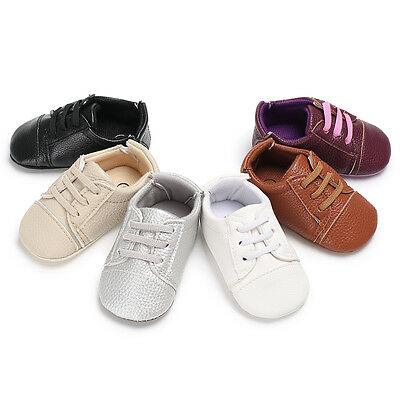 So Lovely Newborn Baby Girl Pram Shoes Toddler Pre Walker Shoes 0-6 6-12 12-18 M