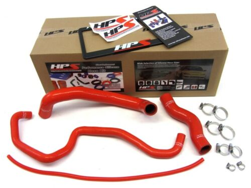 HPS Red 3-Ply Silicone Radiator Hose Kit for Infiniti 2003-2007 G35 2Dr 4Dr