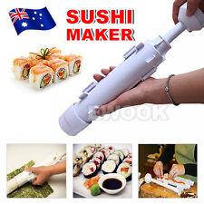 Sushi Roll Maker Making Kit Mold Rice Roller Mould Kitchen DIY Set AU