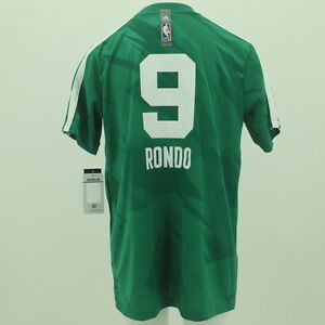 Boston-Celtics-Youth-Size-Rajon-Rondo-official-NBA-Adidas-Jersey-New-With-Tags