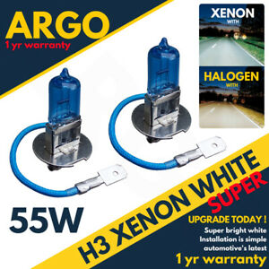 H3-Xenon-White-55w-Halogen-Hid-Headlight-Headlamp-Legal-Bulbs-453-Fog-Light-12v