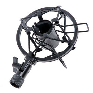 Mic-Microphone-Shock-Mount-Stand-Holder-Mount-Clip-for-Studio-Sound-Recording-RD