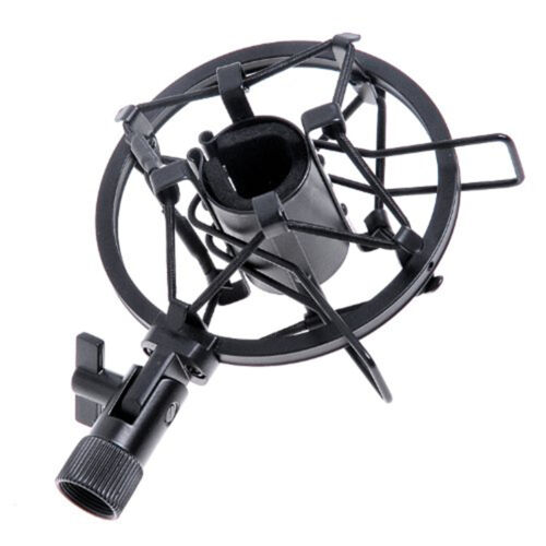 Universal Mic Mikrofon Shock Mount Clip Halter Studio Sound Aufnahme DE