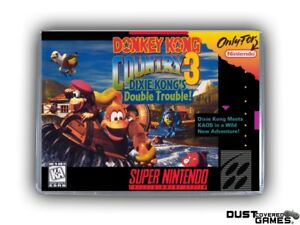 Donkey Kong Country 3  Dixie Kong s Double Trouble! SNES Super ... f58b6189903