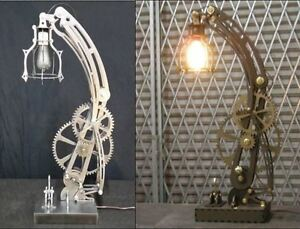Details about Steampunk STEEL lamp and WOOD lamp patterns dxf format CNC  files on CD
