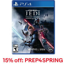 Electronic Arts Star Wars Jedi Fallen Order (PS4), 15% Off: PREP4SPRING