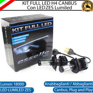 KIT LED H11 6000K CANBUS XENON 9800 LM LUMEN REALI LAMPADE LUMILEDS ZES PER MOTO