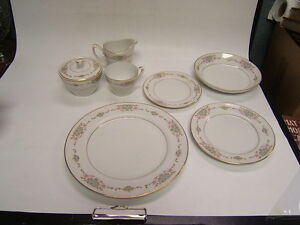 Image is loading Mikasa-Fine-China-034-Dublin-034-227-Vintage- & Mikasa Fine China