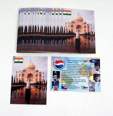 PEPSI AROUND THE GLOBE 2000 DART PROMO CARD P1