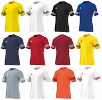 Adidas Boys T Shirt Entrada Football Sports Kids Training Top 5-14 Years
