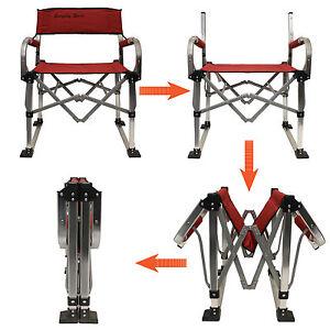 Everyday-Sport-en-aluminium-leger-pliable-Exterieur-Camping-Plage-Chaise