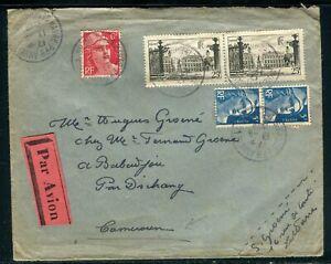 PréCis Enveloppe Du Havre Pour Le Cameroun En 1948 - Réf M123 Prix De Rue