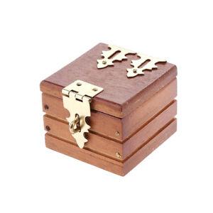 Magic-Trick-Prop-Coin-Ring-Box-Mini-Wooden-Case-For-Magician-Accessory-FE