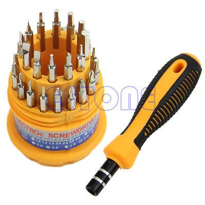 Delicate 31 In 1 Precision Screwdriver Set Handle Mobile Phone Repair Kit Tool