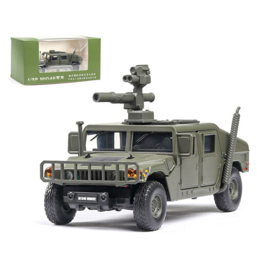1:32 HMMWV M1046 Humvee Military Armored Vehicle Model Car Diecast Gift Green