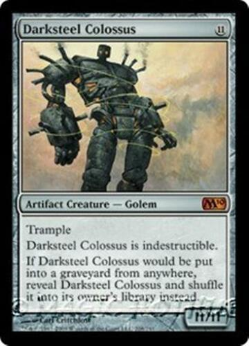 DARKSTEEL COLOSSUS M10 Magic 2010 MTG Artifact Creature — Golem MYTHIC RARE