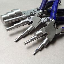 6 in 1 & 3 passo Wrap N RUBINETTO Pinze Jewelry wire cauzione rendendo strumento 13 TAGLIE 3 PC