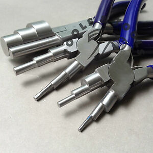 6-in-1-amp-3-Step-Wrap-N-Tap-Pliers-Jewellery-Looping-Bail-Making-13-Sizes-3-Pcs