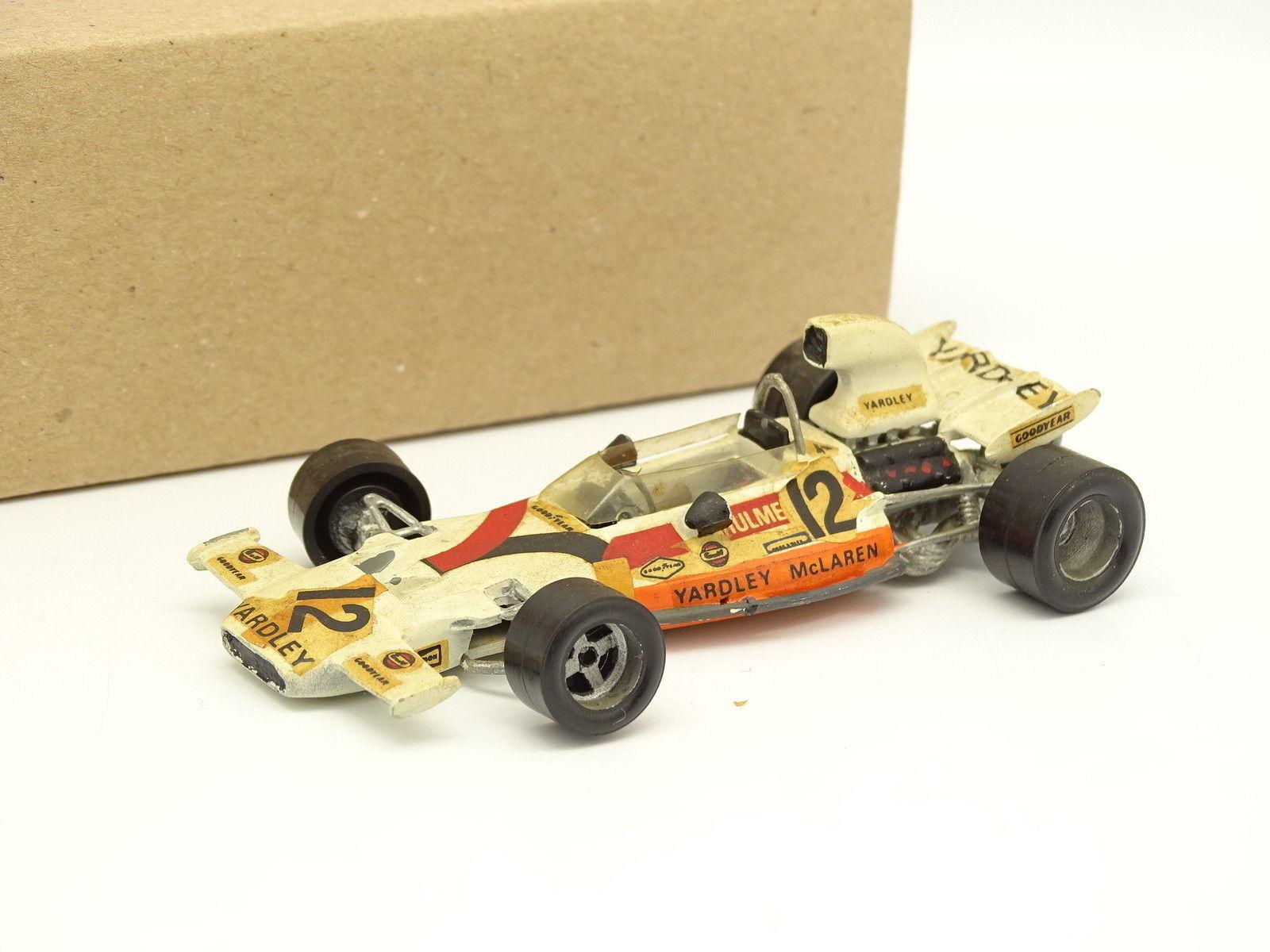 John Day Kit Métal Monté 1 43 - F1 Yardley McLaren M19C Autriche GP 1972 Hulme