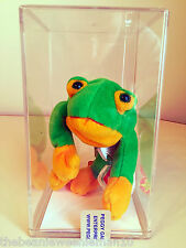 ***SUPER RARE**Smoochy the Frog***W/Canadian Tag**INDONESIA**PVC PELLETS**