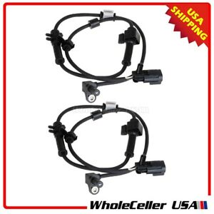 Image Is Loading 2x Abs Wheel Sd Sensor Front For 02