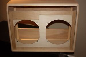 Details about rawcabs TWIN REVERB 2x12 empty pine unfinished combo guitar  amplifier cabinet
