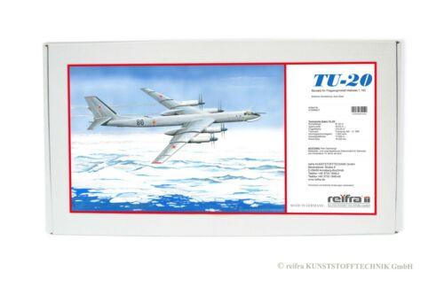 TU-20 Tupolew Modell Bausatz 1:100 TU 20 Flugzeug Flugzeugmodell Plasticart