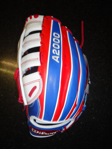 "LH 259.99 $ Wilson A2000 /""MERICA slowpitch Softball Glove WTA20LS16CL22 13/"""