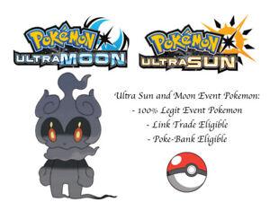 Details about Pokemon Ultra Sun and Moon Pokemon Movie Marshadow Japan  Event Pokemon