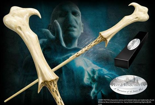 HARRY POTTER: LORD Voldemortist Zauberstab VERSION 2 NOBLE COLLECTION