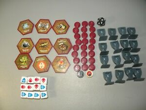 Hasbro-Heroscape-Rise-of-The-Valkyrie-Complete-Dice-Glyphs-Order-Wound-Markers
