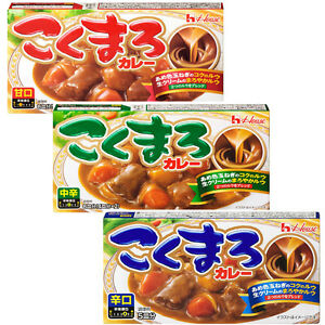 House-Foods-Kokumaro-Japanese-Curry-Roux-Sauce-Mix-140g-Mild-Medium-Hot