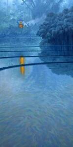 BEAUTIFUL-ORIGINAL-MARK-HARRISON-034-Palebon-034-Bali-BUDDHISM-OIL-PAINTING
