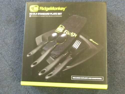 Cutlery Set ALL SIZES Camping Fishing tackle Ridge Monkey DLX Plate