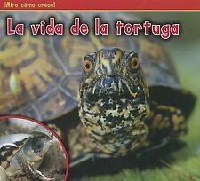 La vida de la tortuga (¡Mira cómo crece!) (Spanish Edition)-ExLibrary
