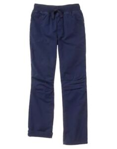 NWT Gymboree Boys Pull on Pants Pants Mighty Knee Navy Blue many sizes